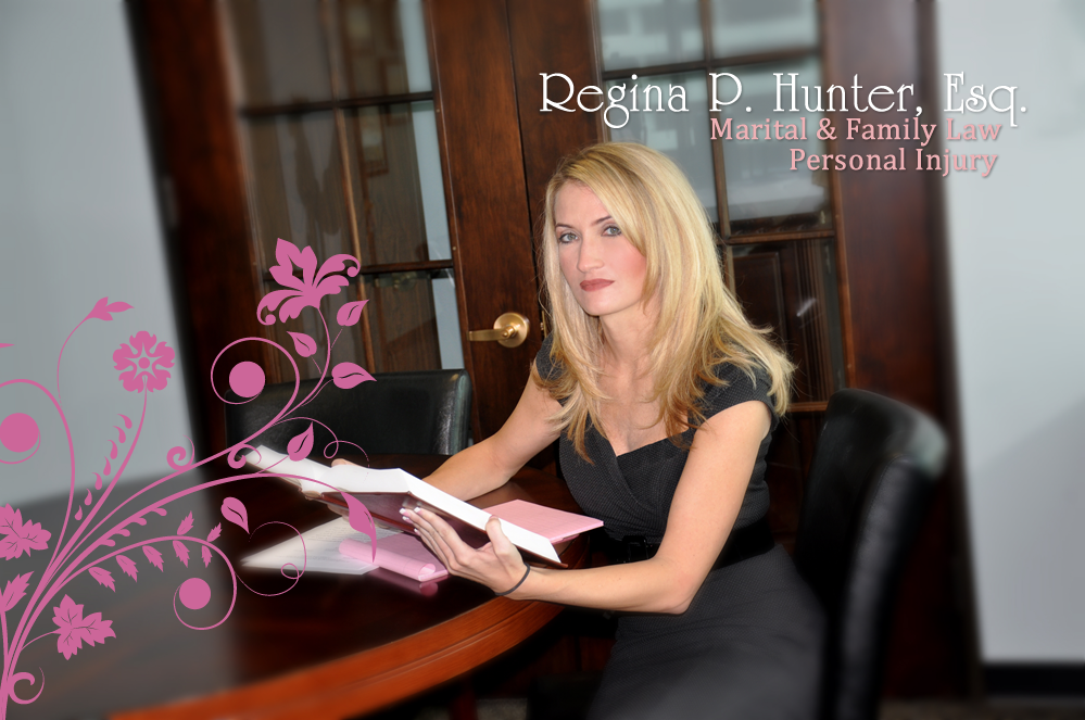 Regina P Hunter, Esq. Marital & Family Law - Office: 813-287-2227 Fax 813-287-2228 - 5050 West Lemon Street, Tampa, Florida 33609-3524